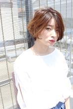 ナチュラルBOB(ひし形シルエット)|RENJISHI AOYAMA 高田 百唯のヘアスタイル