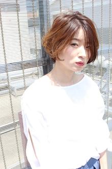 ナチュラルBOB(ひし形シルエット)|RENJISHI AOYAMAのヘアスタイル