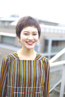 質感たっぷりベリーショート|RENJISHI AOYAMAのヘアスタイル