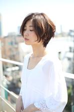 ショートボブ パーマ|RENJISHI AOYAMAのヘアスタイル
