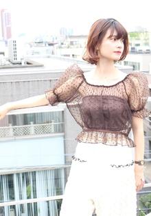 愛されワンカール☆エアリーショート|RENJISHI AOYAMAのヘアスタイル