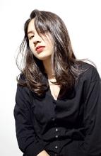 かきあげバング&ヘルシーレイヤー|RENJISHI AOYAMAのヘアスタイル