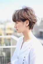 柔らか質感耳掛けフレッシュショート|RENJISHI AOYAMAのヘアスタイル