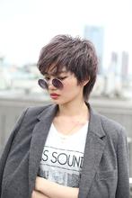 カットで作るナチュラルクールショート|RENJISHI AOYAMAのヘアスタイル