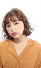 ふわミディワンレンボブ|RENJISHI AOYAMA 佐藤 真里のヘアスタイル