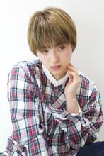 ハイトーンベリーショート|RENJISHI AOYAMA 坂手 開のヘアスタイル