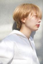ベージュ・ハンサムショート|RENJISHI AOYAMA 高松 花帆のヘアスタイル