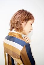 佐々木希風ボブ RENJISHI AOYAMA 池田 涼平のヘアスタイル