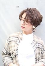カールナチュラルショート|RENJISHI AOYAMAのヘアスタイル