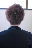 モテ髪束質感ショート【k34】