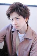 流しバングのカジュアルショート 【k37】|rikoのヘアスタイル