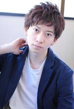 軽やか大人のビジネスショート【k40】|rikoのメンズヘアスタイル