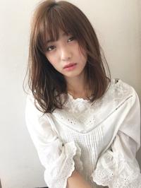 フェミニン仕上げが可愛いニュアンスセミディ【k116】