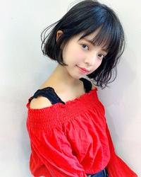 黒髪フェミニンボブ【k264】