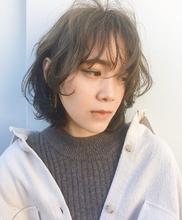 透け感カラー|riko 竹田 凪儀のヘアスタイル