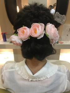 おしゃれなヘアセット♪|大阪上本町駅から徒歩1分の美容室|ロンロンシャ 都ホテル店のヘアスタイル