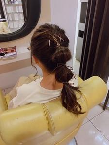 いつもとちがう雰囲気でHAPPYに★|大阪上本町駅から徒歩1分の美容室|ロンロンシャ 都ホテル店のヘアスタイル
