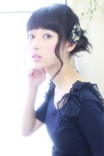 低めボリューム感でしっとり大人アレンジ|ROUGE 目白台店 廣田 謙介のヘアスタイル