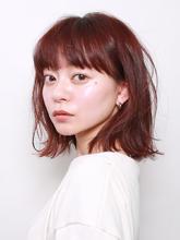 アレンジ自在!切りっぱなしボブ!|ROUGE 目白台店のヘアスタイル