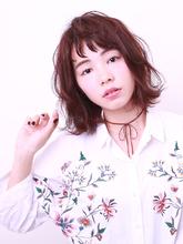 大人女性に似合うピン系のカラーリングです!|ROUGE mieux 金井 美雪のヘアスタイル