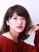 大人女性におすすめのカールミディアム!|ROUGE mieux 玉川 学のヘアスタイル