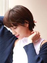 大人女子のマッシュショート!|ROUGE mieux 金井 美雪のヘアスタイル