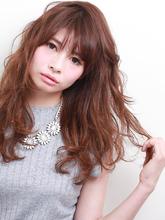 ロングスタイルの巻き髪です☆|ROUGE 茗荷谷店のヘアスタイル