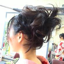 可愛らしく 華やかに|サロン・ド・ベェラージューのヘアスタイル