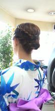 スッキリ 可愛く サロン・ド・ベェラージューのヘアスタイル