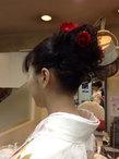 スッキリ 可愛らしく サロン・ド・ベェラージューのヘアスタイル