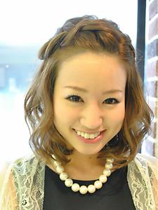 編み込みハーフアップ☆|KENZO copineのヘアスタイル