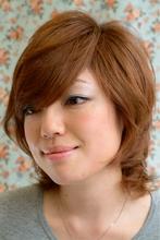 重めバングのモードショート|SHAPE GARDEN kameariのヘアスタイル