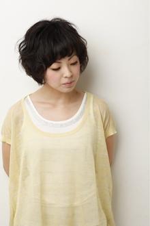 くせ毛風ナチュラルボブ|SHAPE GARDEN horikiriのヘアスタイル