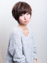ドライカットショートグラデーション|SHAPE GARDEN horikiriのヘアスタイル