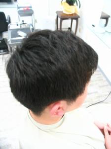 根元押さえて 毛先カール|イオカビューティーショップ 富雄店のヘアスタイル