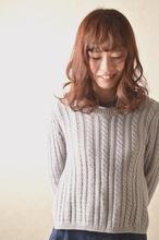 ピンクヴェールカラーで柔らかい雰囲気に|clip sieteのヘアスタイル