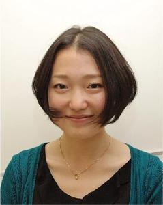 美シルエットのワンレンショート|Framlings 乃木坂のヘアスタイル