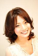 ルージーウェーブ|HAIR&MAKE Dimple 田村 順子のヘアスタイル