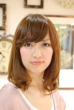 ナチュラルモード|HAIR&MAKE Dimple 田村 順子のヘアスタイル