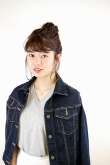 シンプルボブ アレンジ|HAIR&MAKE Dimpleのヘアスタイル