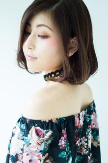 ふんわりボブで涼しげに、、☆|HAIR MAKE UE2 上本町店のヘアスタイル