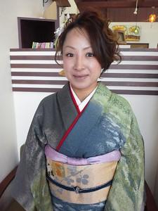 ショートスタイルからの                                                                      アップ☆|LaLuna Ozのヘアスタイル