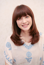 Natureストレート|Hair Atelier DEAR-LOGUE 下北沢 のヘアスタイル