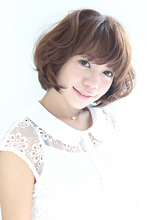 ミルキーベージュ Hair Atelier DEAR-LOGUE 下北沢  渡部   のヘアスタイル