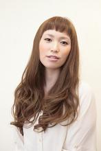 ショートバング&ヌーディーカラー Hair Atelier DEAR-LOGUE 下北沢  石塚   のヘアスタイル