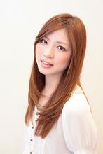 シルキーストレート Hair Atelier DEAR-LOGUE 下北沢  石塚   のヘアスタイル