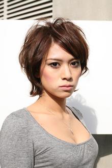 大人っぽさを残したふんわりショート|Hair Atelier DEAR-LOGUE 下北沢 のヘアスタイル