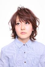 フェミニンだけどカジュアルなショートミディ Hair Atelier DEAR-LOGUE 下北沢  石塚   のヘアスタイル