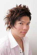 やんちゃなアシンメトリー|Hair Atelier DEAR-LOGUE 下北沢  榎本   のメンズヘアスタイル