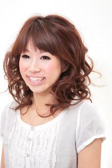 春のデジタルパーマ|Hair Atelier DEAR-LOGUE 下北沢 のヘアスタイル
